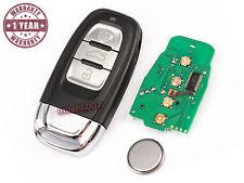 Pliante clé clé Audi a3 a4 a6 a8 3 touches 8z0837231 433,92 MHz