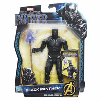 Hasbro Marvel Avengers 6-inch Black Panther with Vibranium Gear - NEW!!!