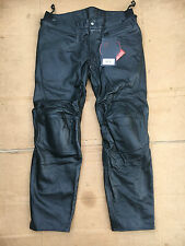 "RST INTERSTATE 2 Mens Leather Motorcycle Trousers Pants Jeans UK 40"" waist (LBB)"