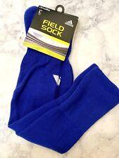 Adidas Field Socks Royal Blue Size Large mens sz 9-13 womens sz 10-12