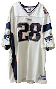 Cory Dillon New England Patriots #28 Jersey Reebok On Field SZ 60 NFL Football
