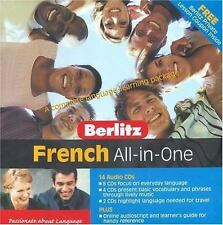 All-In-One French (Berlitz Self Study)  - Audiobook