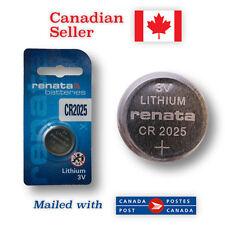 CR2025 NEW! Renata Lithium 3V Coin Button Battery