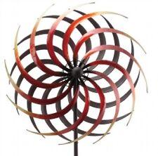 Windrad Windspiel ArtFerro Metall Gartendeko 38 cm Gesamthöhe 180 cm