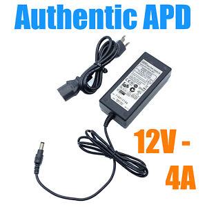 Genuine APD AC Adapter 48W OEM for Acer LCD Monitor AF705 AC711 AL712 w/PC