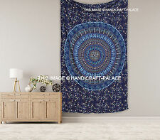 Indian Mandala Tapestries Bedspread Wall Decor Twin Size Tapestry Wall Hanging