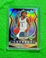 TYRESE MAXEY SILVER PRIZM CRUSADE ROOKIE CARD KENTUCKY RC 2020 76ERS SP ROOKIE