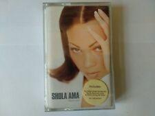 "MC CASSETTA SHOLA AMA "" MUCH LOVE ""  W/ BOOKLET WARNER  3984-20020-4"