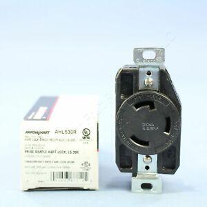 Cooper Arrow Hart Twist Locking Receptacle Outlet NEMA L5-30R 30A 125V AHL530R