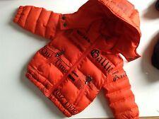 Pre-AMATA 100% Auth John Galliano, Baby Boy Giacca con Logo. 6 mesi