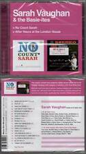 "SARAH VAUGHAN ""No Count Sarah + After Hours At The London House"" (CD) 2011 NEUF"