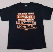 6bac586f Vtg Cincinnati Bengals Fans Hate Pittsburgh Steelers Smack Talk T-Shirt  Large
