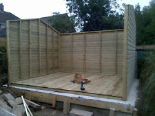 14x8ft Wooden Garden Apex Ultimate Shed/Workshop 19mm Tanalised 4ft Double Door