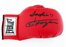 Genuine Everlast Size 10 Boxing Glove Signed Twice Joe Frazier & Smoking Joe COA