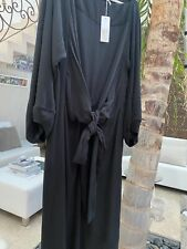 ISABEL MARANT robe SOIE SILK dress 390€ neuf NEW  KIMONO ceinture 38 40 UK 8 10