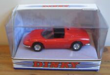 1973 FERRARI DINO 246 GTS in RED by DINKY (DY-24)