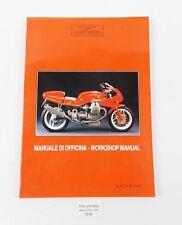 OEM 1993 MOTO GUZZI DAYTONA 1000 WORKSHOP MANUAL SERVICE BOOK ITALIAN ENGLISH