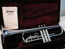 Beautiful Selmer Signet Special USA Trumpet -1950s Vintage - Great Player + Case