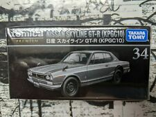 TOMICA PREMIUM #34 NISSAN SKYLINE GT-R [KPGC10] 1/61 SCALE NEW IN BOX