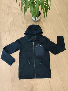 Men's O'Neill Navy Fleece Hoodie With Pockets, Size Medium