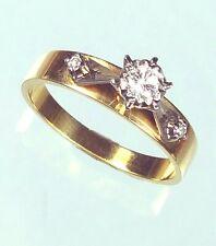 OLD DIAMOND ENGAGEMENT RING