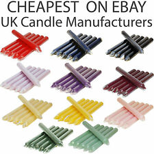 2x TAPERED DINNER CANDLES NON-DRIP & RUN LINE CANDLE INDIVIDUALLY WRAPPED