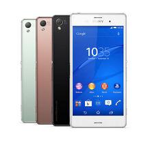 """Sony Xperia Z3 Z3 D6603 D6653 5.2"""" 3G/4G LTE Wifi NFC 20.7MP Cellphone"""