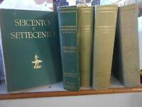LIBRO:V.GOLZIO IL SEICENTO E IL SETTECENTO-A.M.BRIZIO OTTOCENTO E NOVECENTO-ARTE