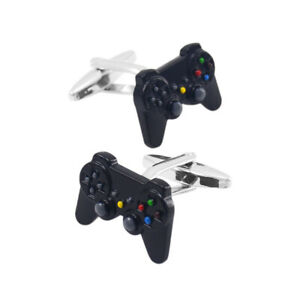 Novelty Game Controllers Cufflinks Shirt Cuff Links Metal Funny Cool Casual
