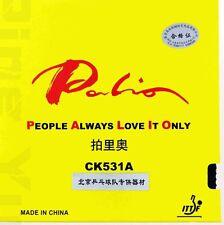 4 Pcs Palio CK531A Long Pips-out Sheet No Sponge Table Tennis Rubber PALIO