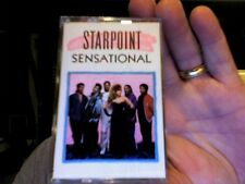 Starpoint- Sensational- used cassette tape- nice condition