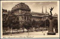 WIEN Vienna Österreich ca. 1925 Verlag Grapha AK Universität Liebenberg Denkmal