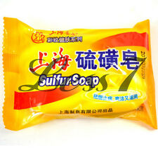 New Shanghai Sulfur Soap Skin Conditions Acne Psoriasis Seborrhea Eczema On Sa っ