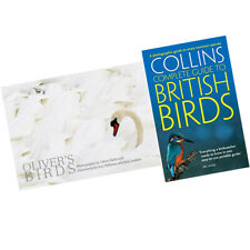 British Birds, Oliver's Birds collection 2 Books Set Collins Complete Guide NEW