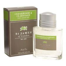 St James of London Cedarwood & Clarysage Alcohol Free Aftershave Gel