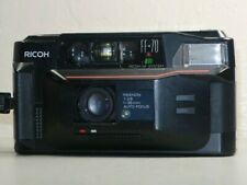 Ricoh FF-70 with Rikenon 35mm F2.8 Lens Point Shoot 35MM Film Camera With BATT