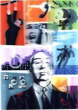 3D Lenticular Postcards - ALFRED HITCHCOCK (Film Director), Juan Carlos Espejo