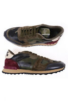 Scarpe Valentino Shoes ROCKRUNNER ITALY Uomo Bordeaux KY0S0723CG2 0AC Tg. 44