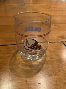 HOUSTON OILERS FOOTBALL VINTAGE COCKTAIL GLASS