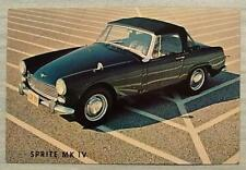 AUSTIN HEALEY SPRITE MK IV USA Car Sales Specification Leaflet 1967 #C 4/67 US