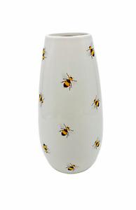 Bumble Bee Print Ceramic Decorative Flowers Vase Living Room Kitchen Decoration