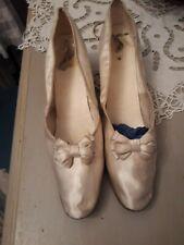 ravissantes chaussures en soie 1880-1900