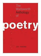 The Wadsworth Anthology of Poetry by Jay Parini (2005, Paperback)