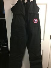Canada Goose Rocky Mountain Bib Overall size:Small color: Black