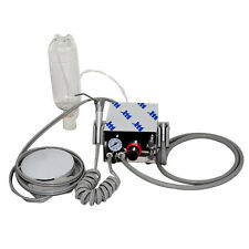 New Portable Dental Turbine Unit handpiece Compressor 4 Hole 3W Air syringe -USA