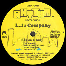 L.J & COMPANY - Sex On A Sax - Chi-Town Rhythm