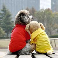 KM_ Pet Puppy Small Dog Kitten Clothes Short Sleeve Costume Apparel T-shirt Su