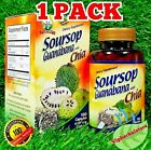 GRAVIOLA GUANABANA with CHIA 500 mg Soursop Antioxidant Support 150 Capsules