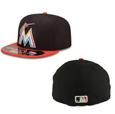 the best attitude 7ebee 75e0a ... 9fifty Adjustable Snapback Hat - Black.  31.99 New. Era 59fifty MLB Cap Miami  Marlins on Field Fitted 5950 Hat Size 7 3 8
