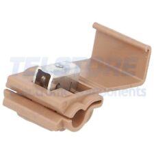 5pcs  Rubacorrente morsetto RAPIDO 4mm2 4,8mm 3M